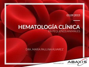 flyer web hematologia 2015 ABAXIS