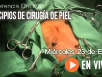 """En VIVO: """"Principios de Cirugía de Piel"""""""